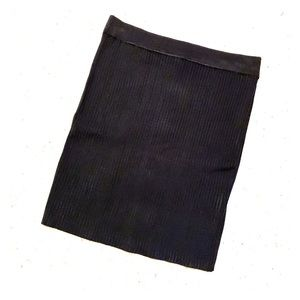 Zara Black Knit Skirt